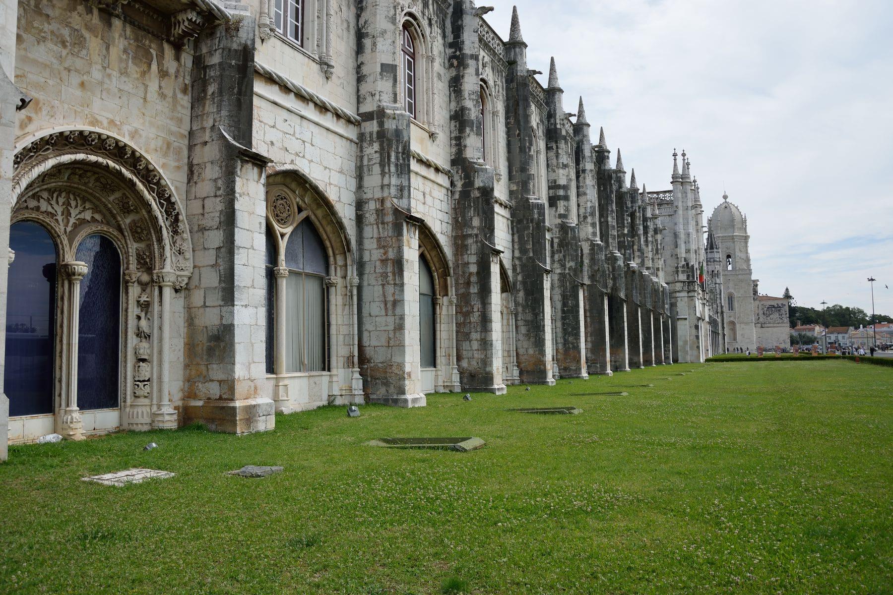 Monastero dos Jeronimos a Lisbona