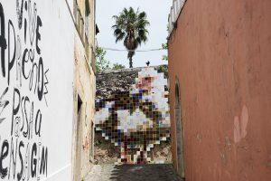 Mosaico di piastrelle a Belem