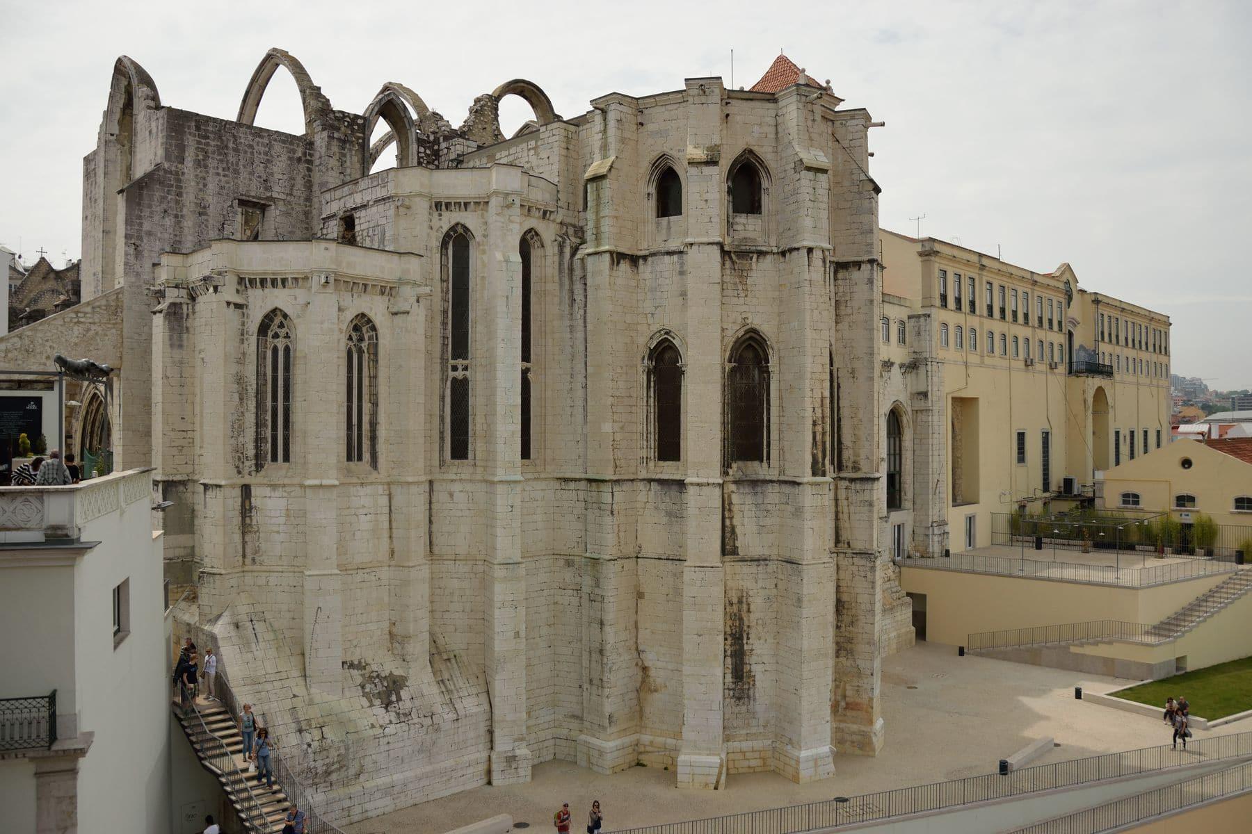 Il Convento do Carmo a Lisbona