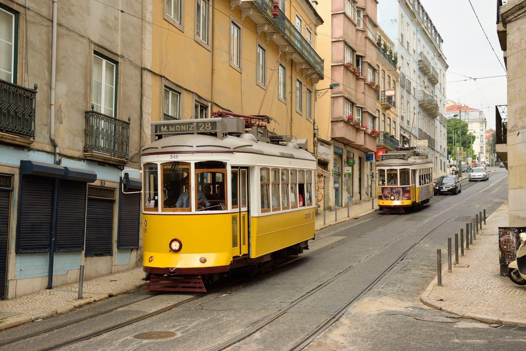 Tram28 a Lisbona