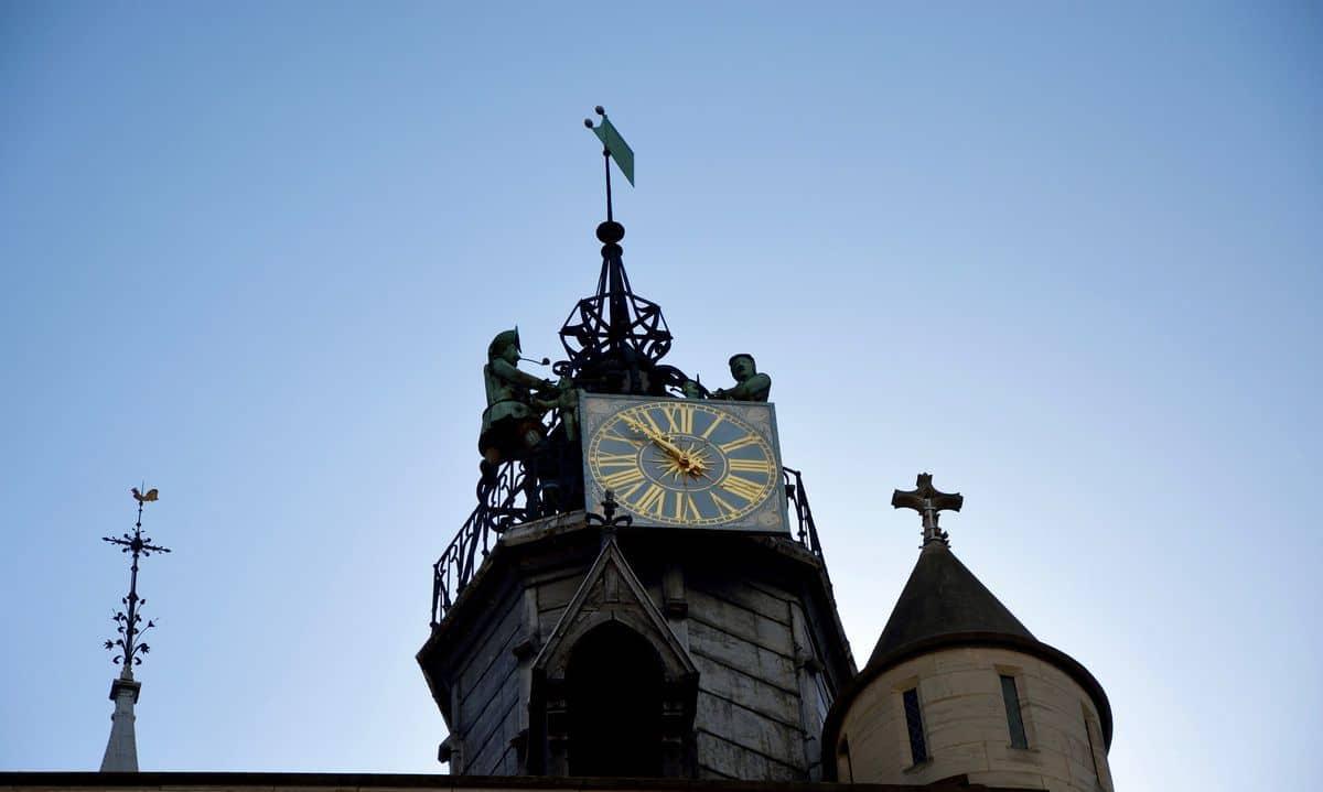 L'orologio Jaquemart a Digione