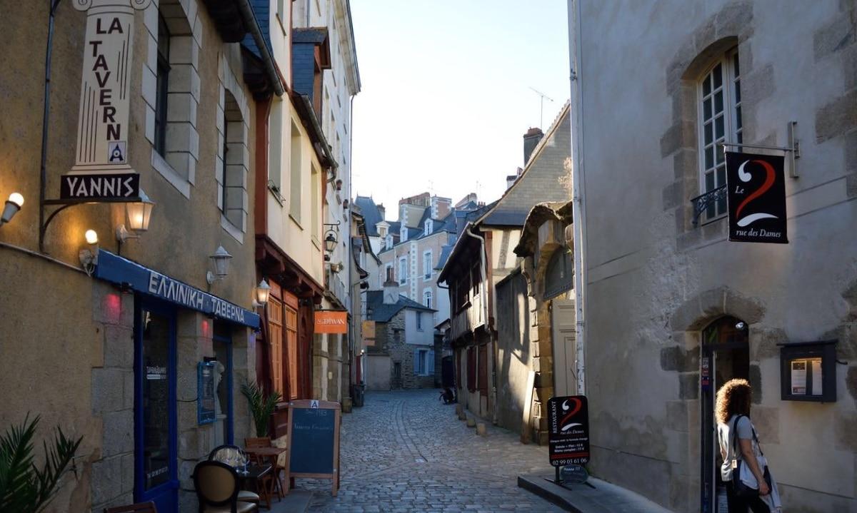 Rue des Dames a Rennes