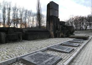 Il memoriale a Birkenau