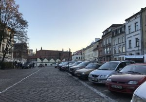 La Sinagoga Vecchia a Cracovia
