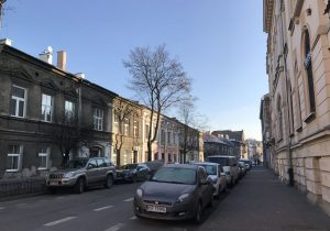 strada a Podgorze