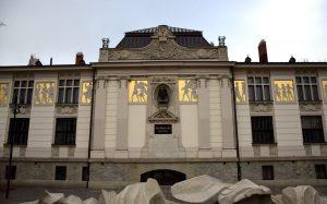 Il Palazzo dell'arte a Cracovia