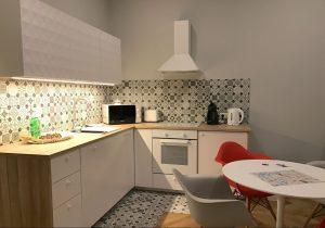 La cucina ai Playroom Apartament