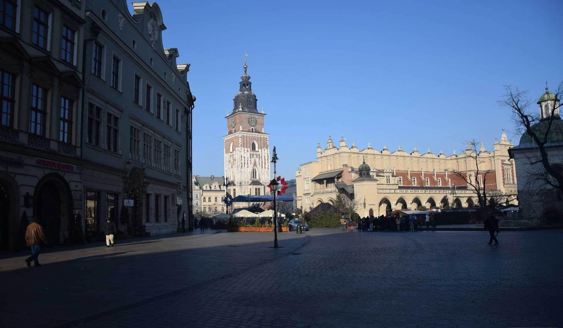 Rynek Glowny Cracovia
