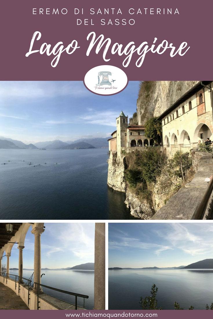 Eremo di Santa Caterina del Sasso: il monastero sulla roccia