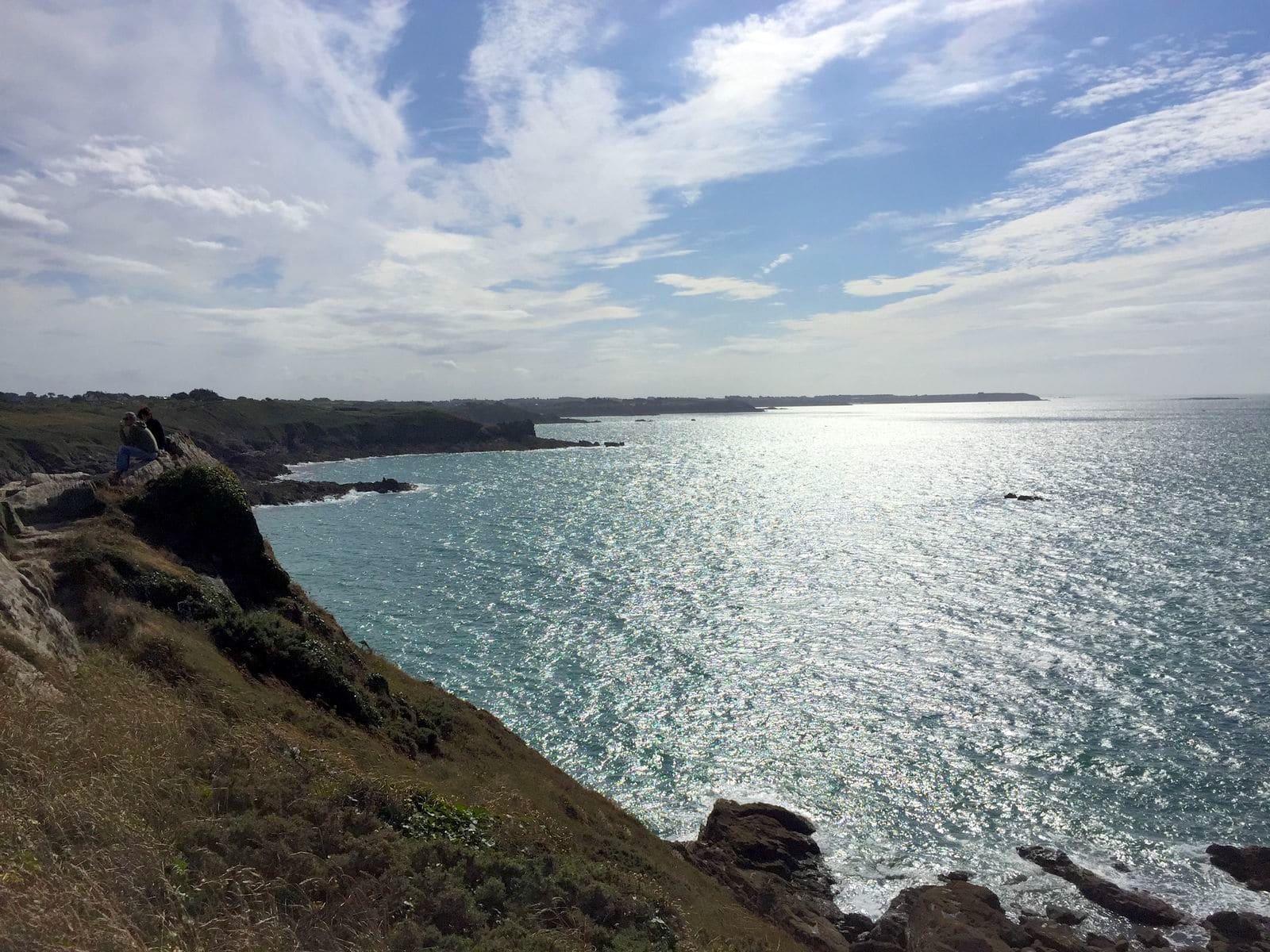 Il panorama dalla Point du Gruoin