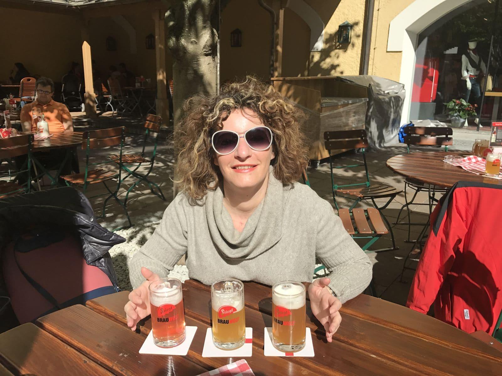 degustazione di birra Stiegl
