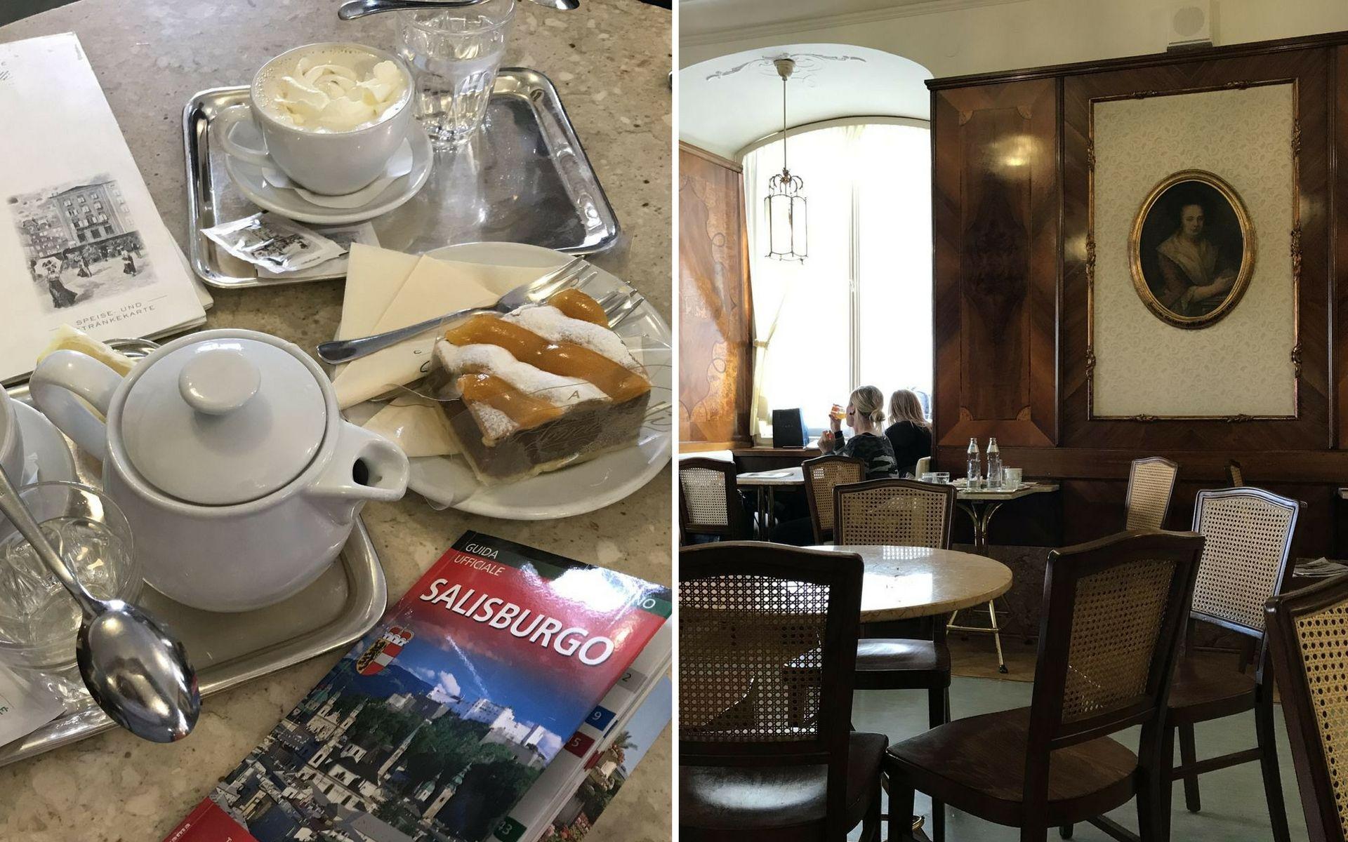 Il Cafè Tomaselli a Salisburgo