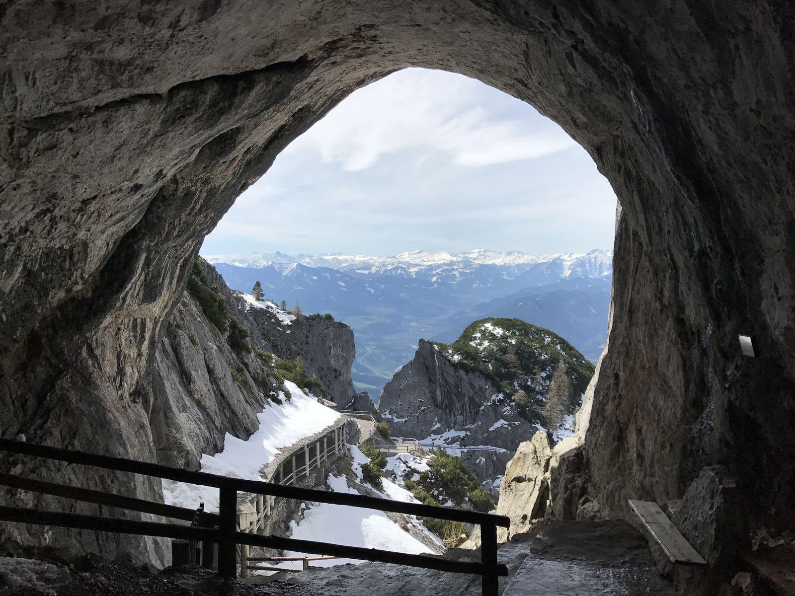 L'ingresso dell'Eisriesenwelt
