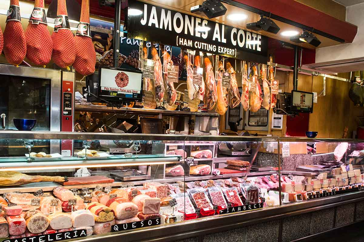 Museo del Jamon a Madrid