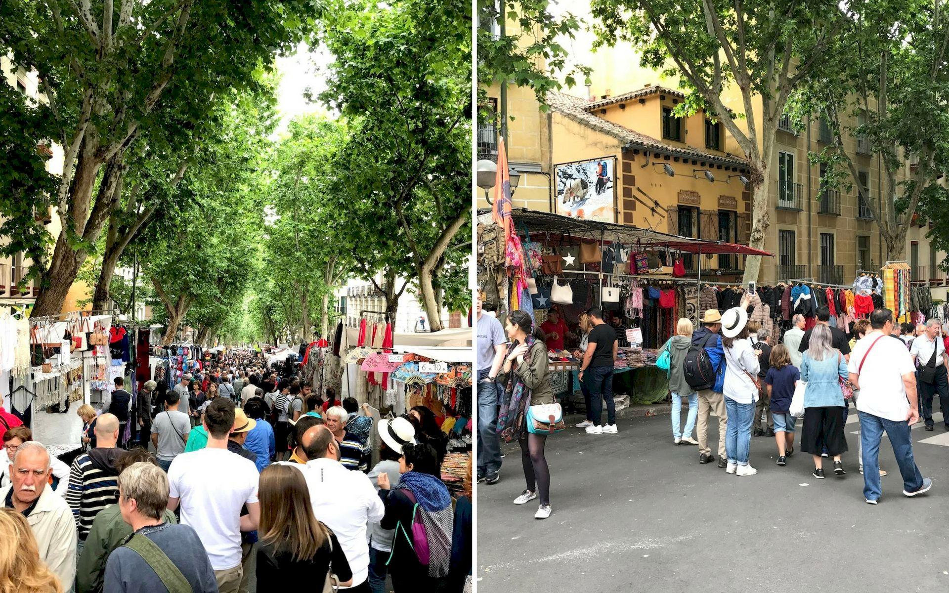 El Rastro a Madrid