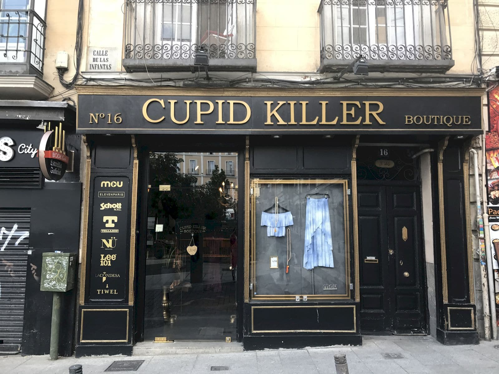Un negozio a Chueca Madrid