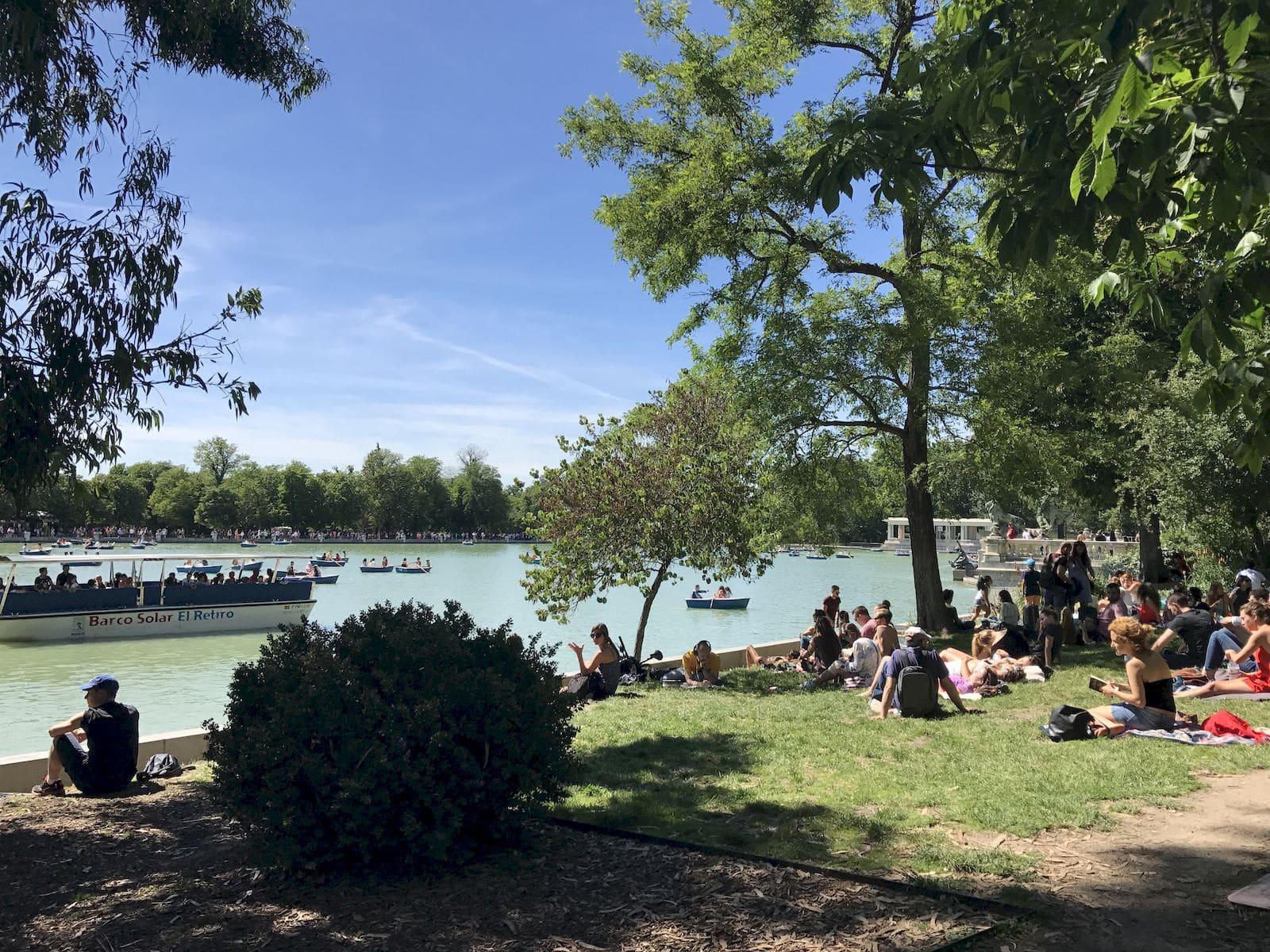 Relax al Parque del Retiro