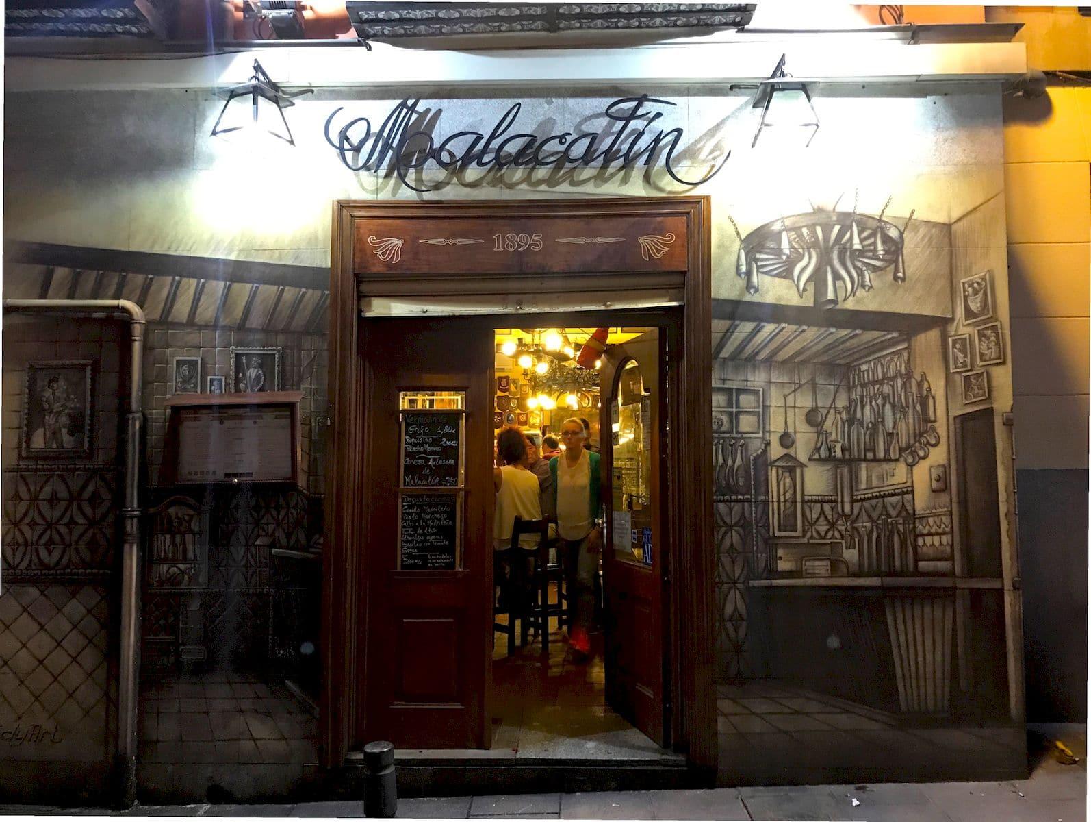 Dove mangiare a madrid 10 indirizzi da provare ti for L esterno del ristorante sinonimo