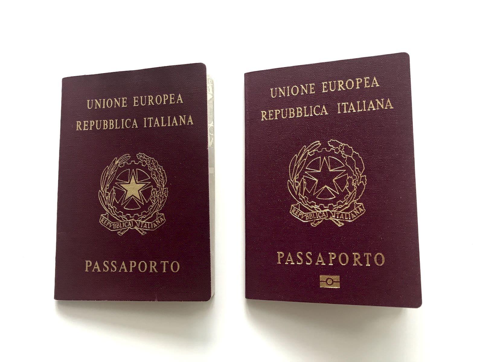 Il passaporto elettronico