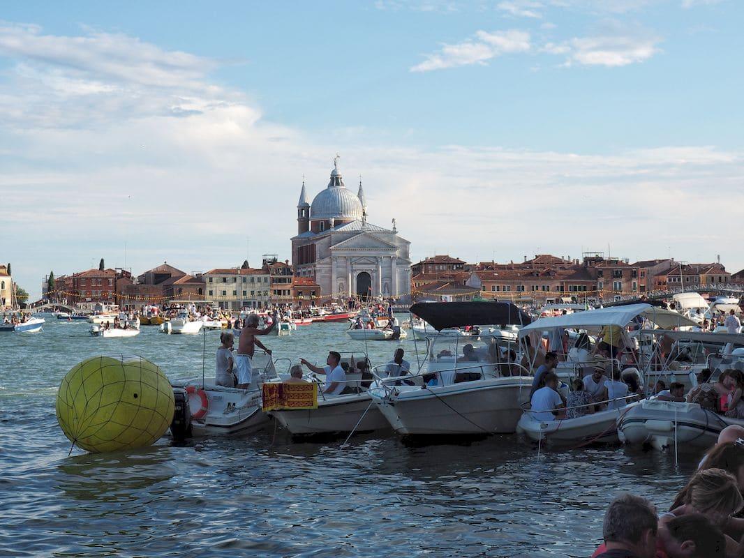 Pacchetto di barche alla Festa del Redentore