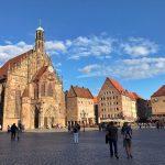 Norimberga la Piazza del mercato