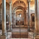 la cappella Romanica al Kaiserburg di Norimberga