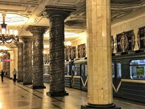 La metropolitana di San Pietroburgo