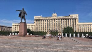 Piazza Mosca a San Pietroburgo