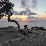Tramonto a Monolithos Rodi