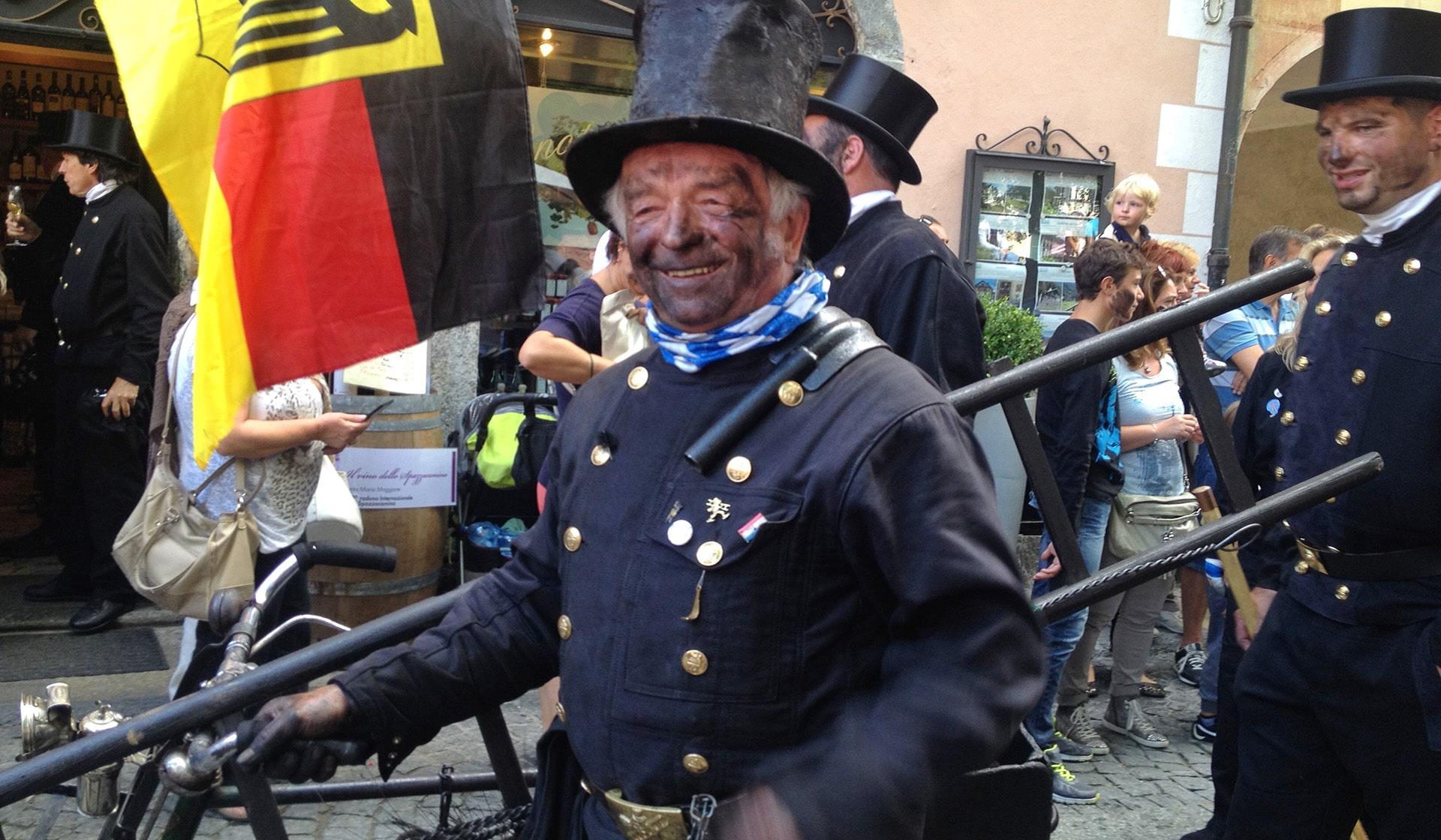 La festa degli Spazzacamini in Valle Vigezzo
