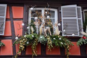 Le decorazioni natalizie a Colmar