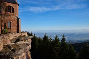Il monastero al Mont Sainte-Odile
