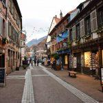 Il centro di Ribeauville