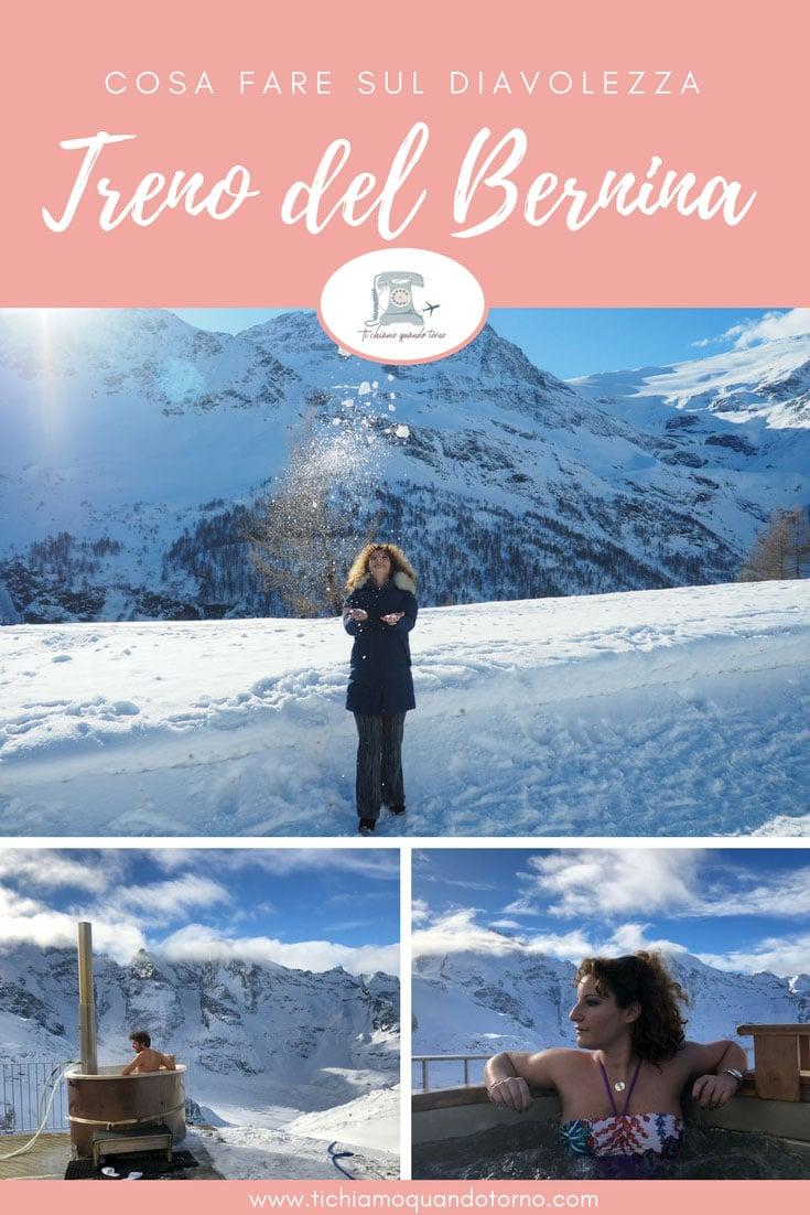 Diavolezza: esperienze uniche nel cuore dell'Engadina. Un'idromassaggio a 3.000 metri d'altitudine è un'idea perfetta per un weekend romantico e un'esperienza indimenticabile  #engadina #svizzera #idromassaggio #weekendromantico #inverno #montagna