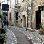 Le case e strade in pietra di Saint Paul De Vence
