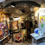 L'atelier di un pittore a Saint Paul De Vence