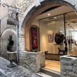 Una galleria d'arte a Saint Paul De Vence