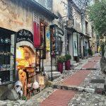 I negozi di Èze in Costa Azzurra