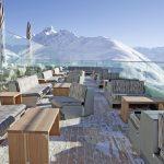Romantik Hotel Muottas Muragl: terrazza panoramica