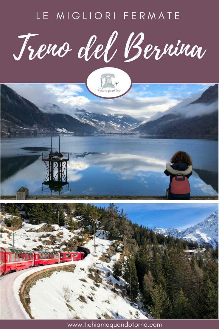 Una selezione delle migliori fermate del Treno del Bernina e una panoramica su tutte le tappe!  #trenodelbernina #treninorosso #berninaexpress #engadina #svizzera #intreno #viaggiare #viaggi #travel #itinerari #ideediviaggio #weekend #consiglidiviaggio