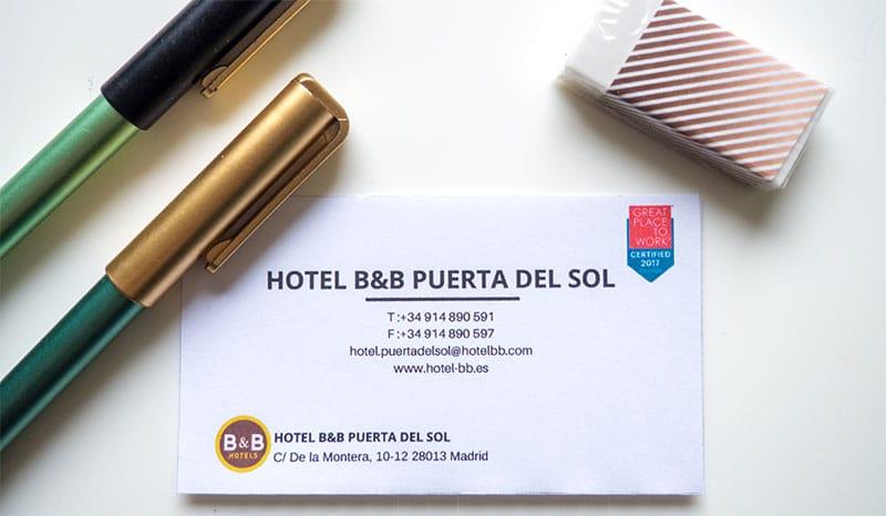 Dove dormire a Madrid B&B Hotel Puerta del Sol