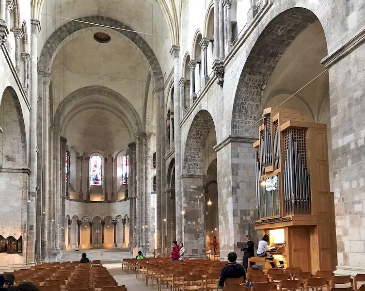 La chiesa Romanica di san martino a Colonia