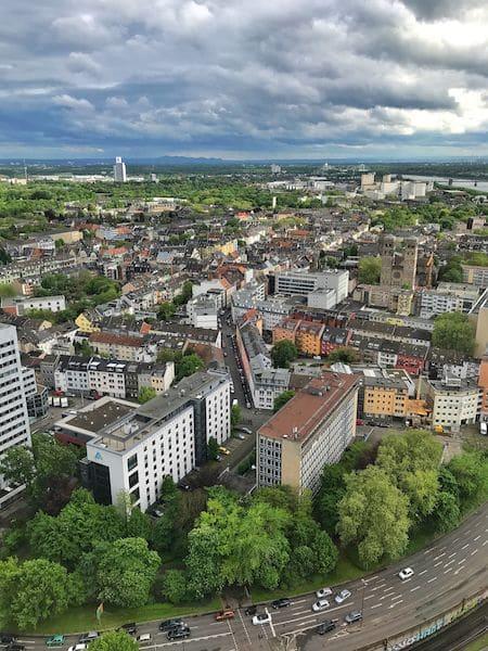Vista dal Köln Triangle