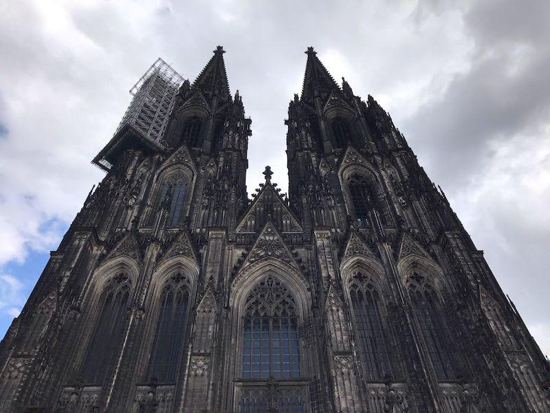 Le torri campanarie della cattedrale di Colonia