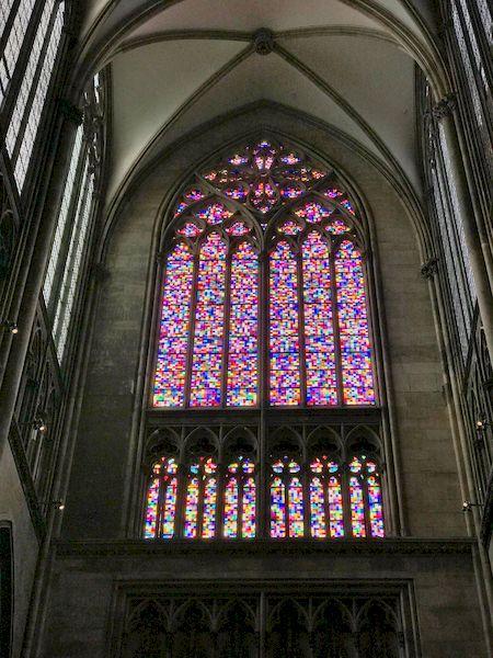 La vetrata della Cattedrale di Colonia realizzata da Gerhard Richter