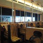 Interni del tram del TimeRide di Colonia