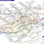Metropolitana di Londra: la mappa
